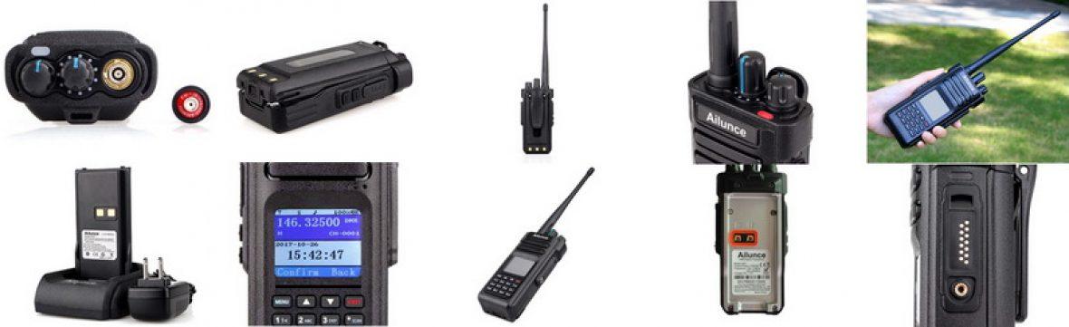Ailunce HD1 Spec  — Dual band DMR/FM portable Ailunce HD1